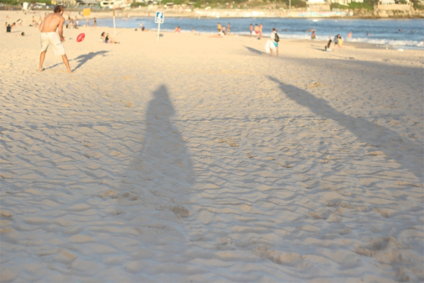bondi_beach_sand_sunset_shadow