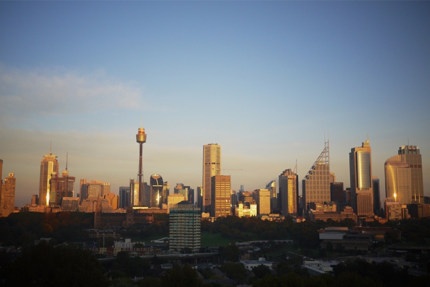 sydney_australia_view_skyline_sunrise