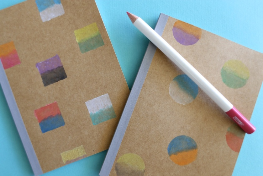 diy watercolour notebooks | south by north