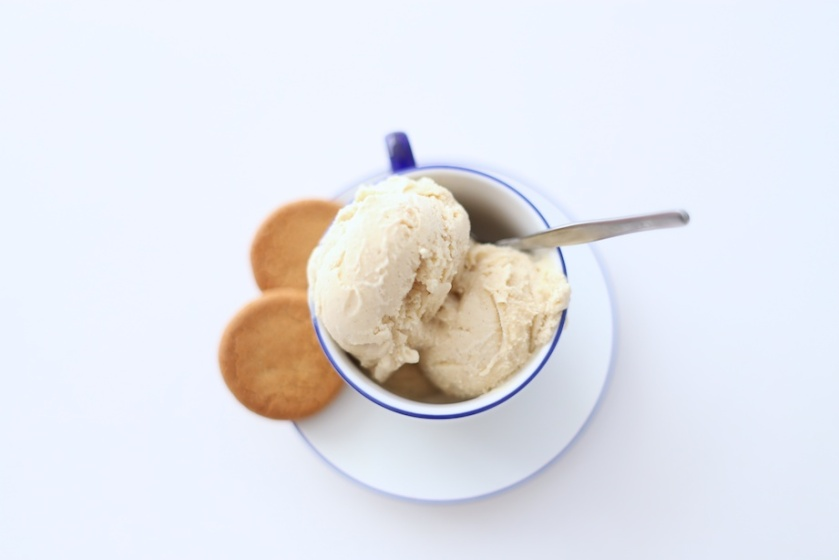 chai and hazelnut ice cream | south by north