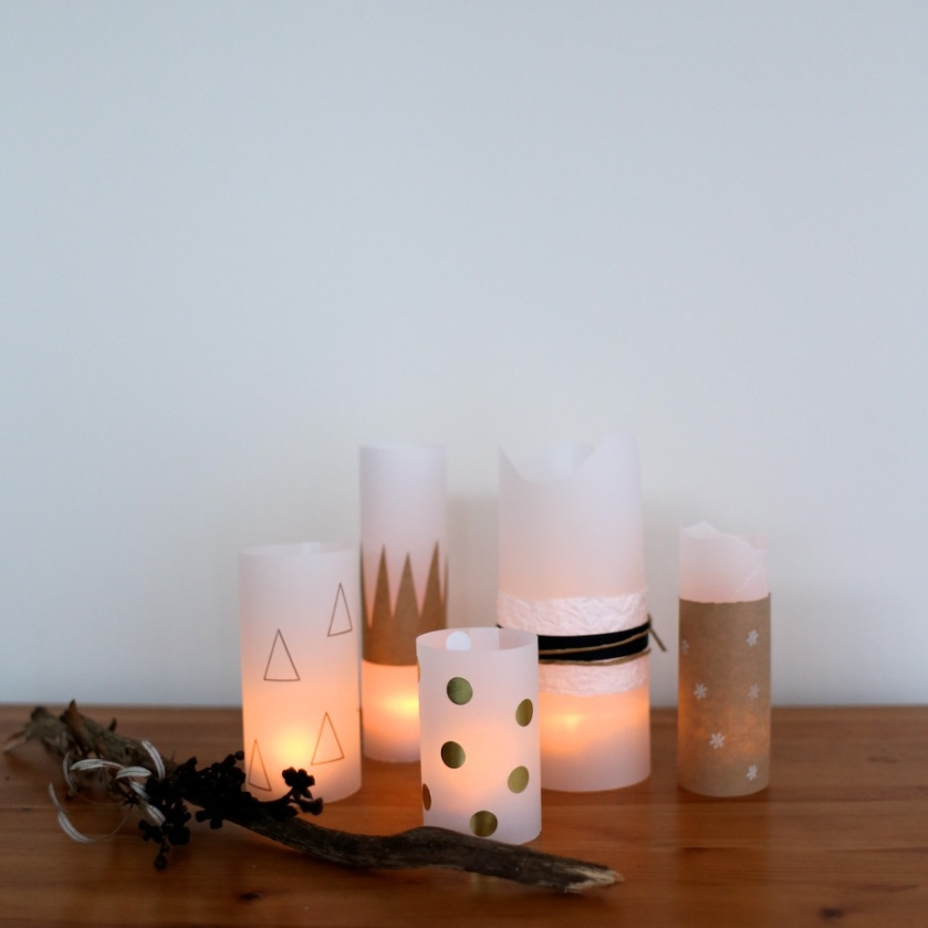 paper votives | south by north