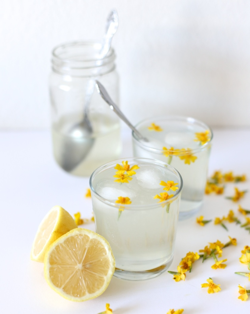 rose geranium lemonade | south by north