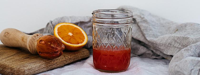 blood orange meringues | south by north
