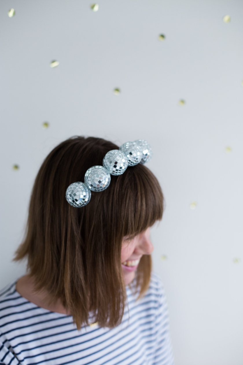 disco ball headband | south by north