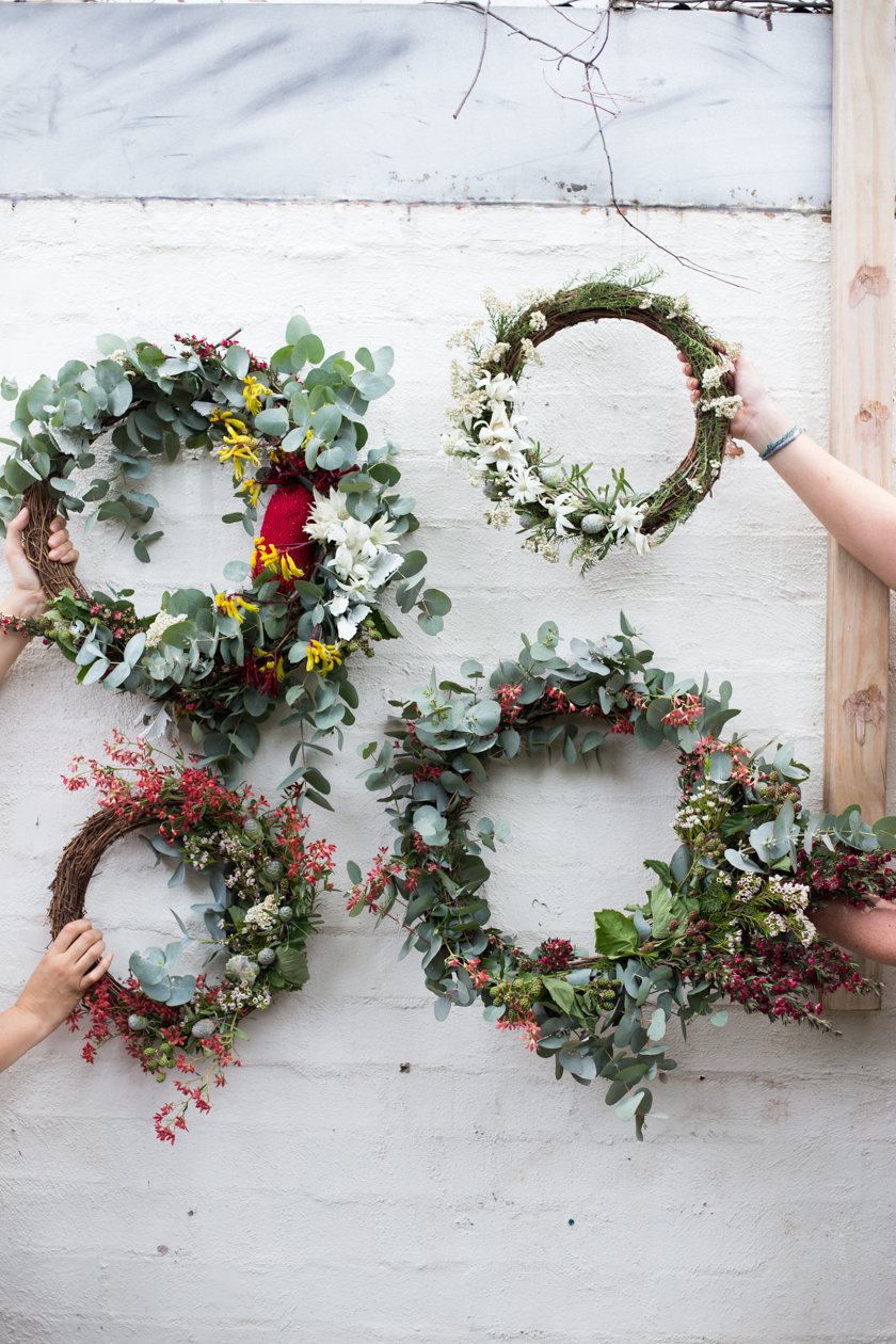 wreath-making | south by north