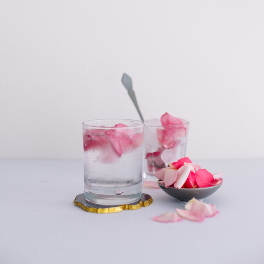 rosewater ice cubes | south by north