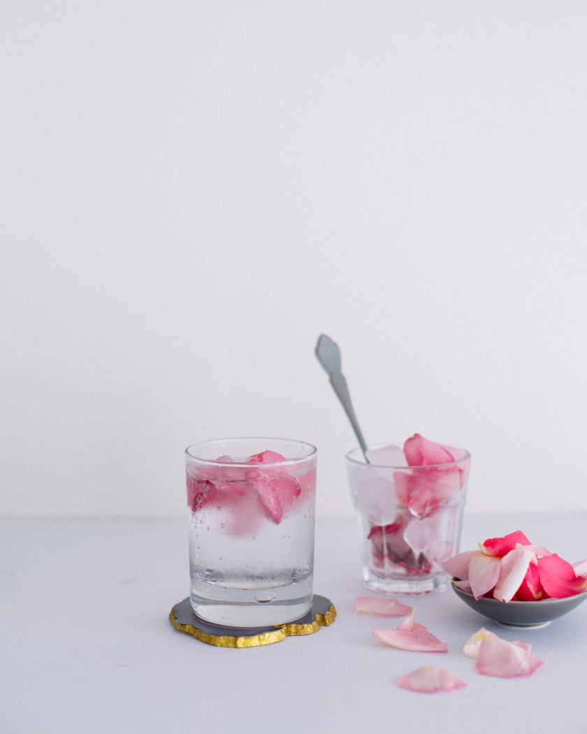 rosewater gin and tonic | south by north