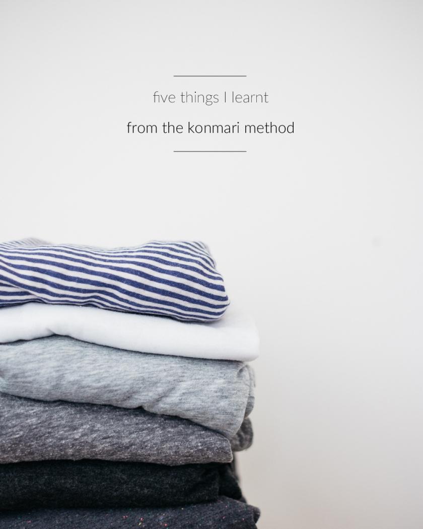 the konmari method | south by north