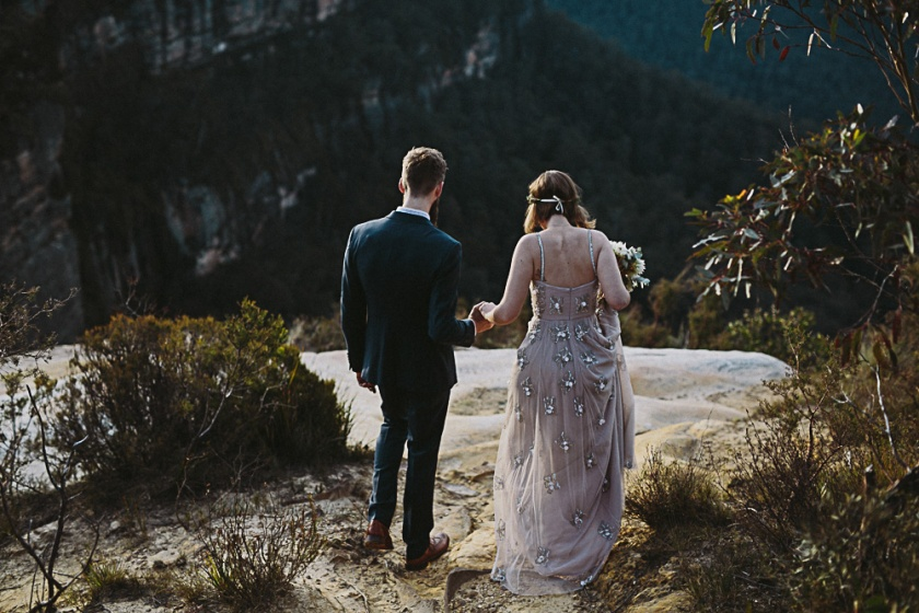 blue mountains wedding | south by north
